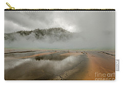 Carry-all Pouch featuring the photograph Yellowstone's Beauty by Sue Smith