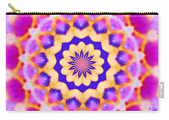 Yelow Pink Blue Mandala Carry-all Pouch