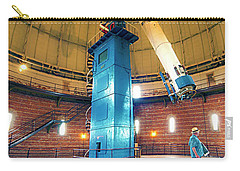 Carry-all Pouch featuring the photograph Yerkes Observatory Williams Bay Telescope  by Tom Jelen