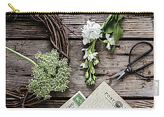 Carry-all Pouch featuring the photograph Yesterdays Treasure by Kim Hojnacki
