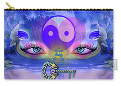 Yin Yang Key To Peace #190 Carry-all Pouch