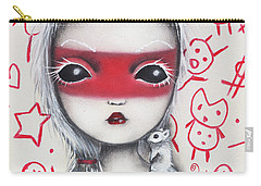 Yo  Carry-all Pouch by Abril Andrade Griffith