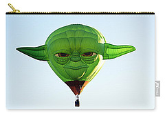 Carry-all Pouch featuring the photograph Yoda  by AJ Schibig