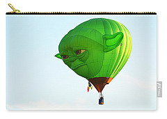 Carry-all Pouch featuring the photograph Yoda In The Sky by AJ Schibig
