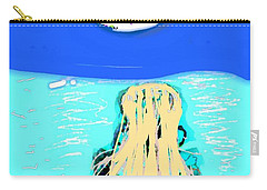 Yoga By The Sea Under The Moon Carry-all Pouch