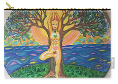 Yoga Tree Pose Carry-all Pouch