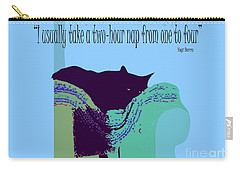 Yogi Cat Nap Carry-all Pouch