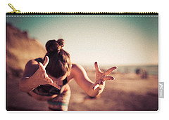 Carry-all Pouch featuring the photograph Yogic Gift by T Brian Jones