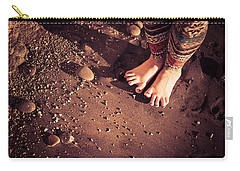 Carry-all Pouch featuring the photograph Yogis Toesies by T Brian Jones