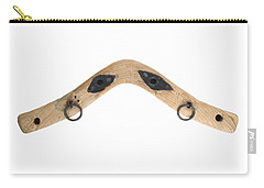 Carry-all Pouch featuring the photograph Yoke - Part Of Harnesses For The Draft Animals by Michal Boubin