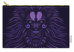 Yoni The Lion - Dark Carry-all Pouch by Serena King