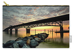 York River Sunrise Carry-all Pouch