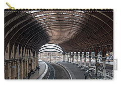 York Station 1 Carry-all Pouch by David  Hollingworth