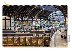 York Station 2 Carry-all Pouch by David  Hollingworth