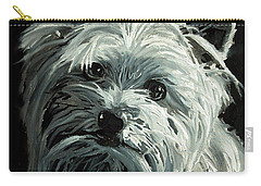 Yorkie Carry-all Pouch