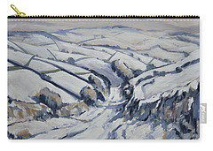 Yorkshire In The Snow Carry-all Pouch