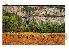 Yosemite Falls Autumn Colors Carry-all Pouch