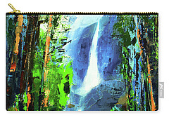 Yosemite Falls Carry-all Pouch by Elise Palmigiani