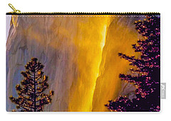Yosemite Firefall Painting Carry-all Pouch