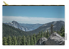 Yosemite National Park - California  Carry-all Pouch by Henri Irizarri