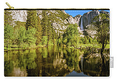 Yosemite Reflections On The Merced River Carry-all Pouch