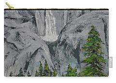 Yosemite Upper Falls Carry-all Pouch