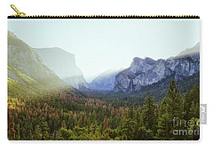 Yosemite Valley Awakening Carry-all Pouch by JR Photography