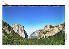 Yosemite Valley- Carry-all Pouch
