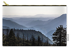 Yosemite View 27 Carry-all Pouch by Ryan Weddle