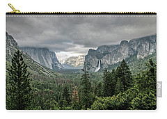 Yosemite View 36 Carry-all Pouch by Ryan Weddle