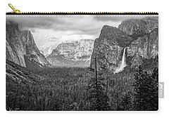 Yosemite View 38 Carry-all Pouch by Ryan Weddle