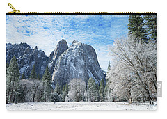 Yosemite Winter Fantasy Carry-all Pouch