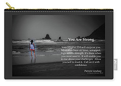 You Are Strong Carry-all Pouch