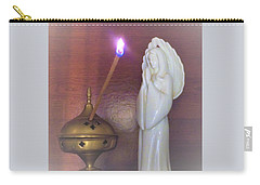 Carry-all Pouch featuring the photograph You Are The Light Of The World by Denise Fulmer