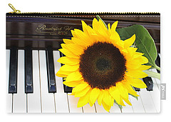 You Are The Sunshine Of My Life - A Love Song Carry-all Pouch by Dora Sofia Caputo Photographic Art and Design