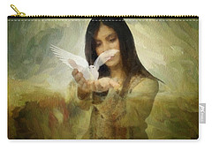 You Bird Of Freedom And Peace Carry-all Pouch