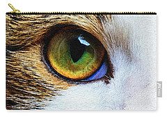 Carry-all Pouch featuring the digital art You Know I Love You by Rafael Salazar