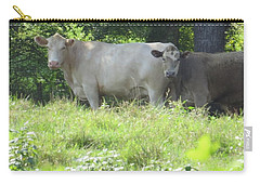 Carry-all Pouch featuring the photograph You Looking At Us by Aaron Martens