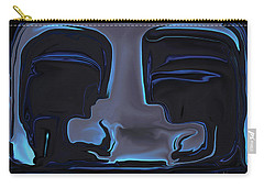 Carry-all Pouch featuring the digital art You N Me by Rabi Khan