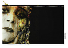 Carry-all Pouch featuring the mixed media You Never Got To Hear Those Violins by Paul Lovering