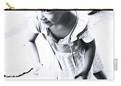 Carry-all Pouch featuring the photograph You'll Spill It by Jez C Self