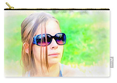 Young And Beautiful Carry-all Pouch by Maciek Froncisz
