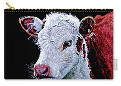 Young Bull Carry-all Pouch