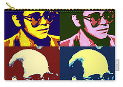 Young Elton John Pop Art Poster Carry-all Pouch