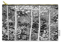 Carry-all Pouch featuring the photograph Young Forest by James BO Insogna