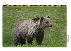 Young Grizzly Carry-all Pouch
