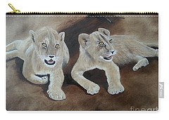 Young Lions Carry-all Pouch