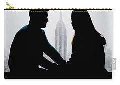 Carry-all Pouch featuring the photograph Young Love     by Chris Lord