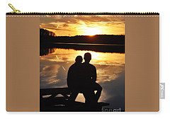 Young Love And Sunsets Carry-all Pouch