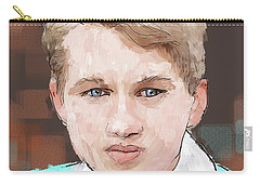 Young Man Carry-all Pouch by Debra Baldwin